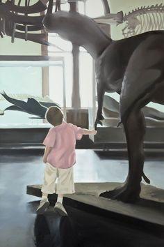 Artist: Zoltán Béla - Sudden Attraction 60 x 90 cm, oil on canvas Oil On Canvas, Artist, Canvas, Painting, Texture Mapping, Human