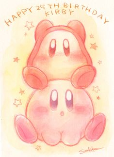 Happy 25th Anniversary Kirby