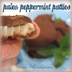 This recipe is for my friend Tony. He is a Standard American Eater who just recently found out about the benefits of coconut oil. He was a coconut hater previously. This is a good reminder that the. After Dinner Mints, Peppermint Patties, Benefits Of Coconut Oil, Tbs, Real Food Recipes, Paleo, Action, Holidays, Inspired