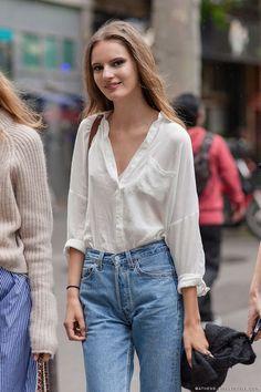 Tuesday´s inspo : high waisted jeans