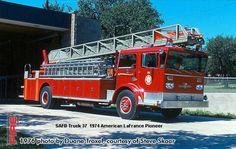 San Antonio Fire Department American LaFrance Ladder Trucks