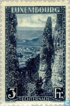 Stamps - Luxembourg - Echternach