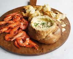 oldsheila's Seafood Cob will make the perfect appetiser at your long weekend festivities. Seafood Appetizers Seafood Appetizers Appetizers Appetizers for a crowd Appetizers parties Cob Dip, Cob Loaf Dip, Seafood Platter, Seafood Dishes, Seafood Recipes, Fish Dishes, Chicken Recipes, Loaf Recipes, Dip Recipes