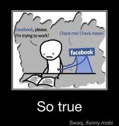 Distrazione da Facebook?