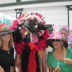 Kentucky Derby! Find my hats on Etsy under Terrill Hats