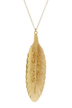 Feather of Truth Necklace