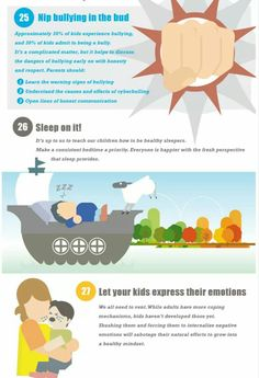 33 ways to raise a happy healthy child