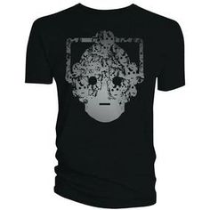 [Doctor Who: T-Shirts: Cyberman Faces Head (Product Image)]