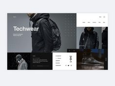 Mondrianism design Techwear
