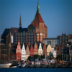 Rostock, Germany, Church of St. Mary and old town & part of my parents mission they just got called too!