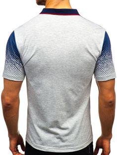 Men's Daily Basic Polo Summer Printed Short-sleeved T-shirt Pattern Blocks, Collar Shirts, Printed Shorts, Body Shapes, Tank Man, Short Sleeves, Men's Polo, Mens Fashion, Summer