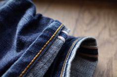 denim jeans part 1: the hem #chainstitched #selvedge #unionspecial #mensfashion #menswear