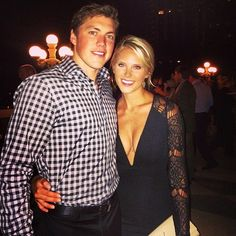 Shamelessly obsessed with these two, the absolute dream couple. Blondes and hockey players mix well