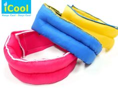 iCool Scarf for Dogs is an amazing item that acts as a collar and keeps a dog cool on the hot summer days (Avail in 3 colors). On Sale @ www.Coupaw.com w/ Free Shipping