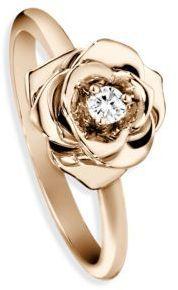 Piaget Rose Diamond & 18K Rose Gold Ring