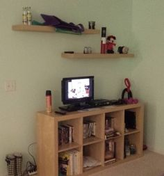 New blog post: My journey into installing wall shelves all by myself! #homedecor #DIY