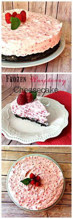 Frozen Raspberry Cheesecake - Lou Lou Girls