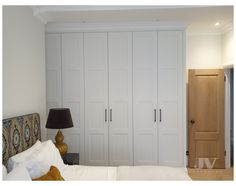 Fitted Bedroom Furniture, Fitted Bedrooms, Wardrobe Furniture, Bedroom Flooring, Built In Wardrobe Doors, Wardrobe Door Handles, Wardrobe Door Designs, White Fitted Wardrobes, Floor To Ceiling Wardrobes