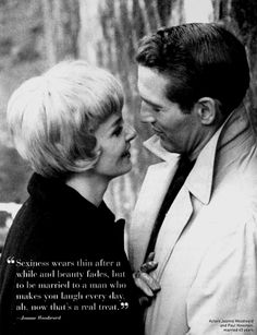 "my favourite silver screen, old time couple. ""The Long, Hot Summer"", great movie :)"