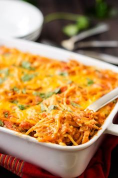 Southwestern Quinoa Pasta Bake - This gluten free casserole is easy to make