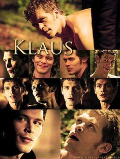 Klaus. Love the vampire diaries.Please check out my website thanks. www.photopix.co.nz