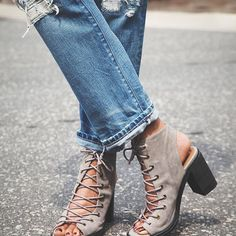 Lace-up love.