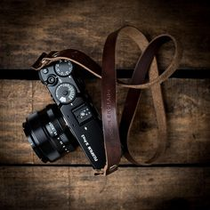 Kensington Leather Camera Strap | Brown | Leica, Nikon, Fujifilm, Sony