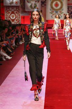 Sfilata Donna Dolce & Gabbana Estate 2018   Dolce & Gabbana