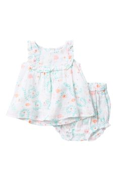 3bd1c1883282 Jellyfish Top   Bloomers Set (Baby   Toddler Girls) by Angel Dear on
