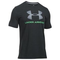 Under Armour Mens Sportstyle Logo T-Shirt Its the soft cotton feel that you like but it stretches wicks sweat dries fast to keep you cooler.Features: Loose: Fuller cut for complete comfort Charged Cottonreg Ropa Under Armour, Under Armour Outfits, Under Armour Men, Sport Fashion, Mens Fashion, Hype Clothing, Workout Wear, Tees, Shirts