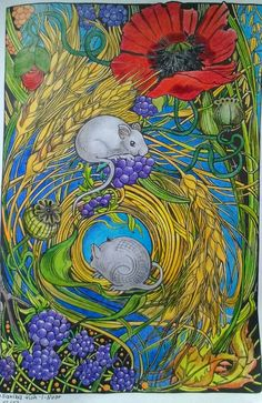 Manic botanic @Saxiba mit Koh-I-Noor