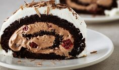 Flourless Black Forest Roulade Swap sugar for sweetener Cocoa powder = 8syns  Filling: Half tub (125g) quark 3tbspn sweetener Cherry Greek muller = 0.5syns  8.5syns for whole cake
