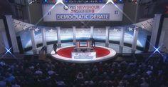 PBS/Facebook Debate Stage