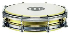 Meinl Percussion TBR06B Brass 6Inch Floatune Tamborim with Synthetic Head -- Want additional info? Click on the image.