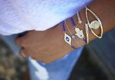because im addicted - DIY: sliding knot bracelet