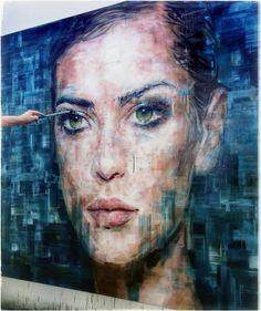 Another gorgeous painting by Harding Meyer Modern Art, Contemporary Art, Art Anime, Human Art, Figure Painting, Portrait Art, Face Art, Figurative Art, Amazing Art
