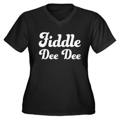 Fiddle Dee Dee t-shirt - love Gone with the Wind! $19.99