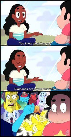 DIAMONDS ARE A GEMS BEST FRIEND by king-betty