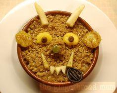 Gruffalo crumble- creative food ideas for older babes/tots Gruffalo Activities, Gruffalo Party, Toddler Activities, Crumble Recipe, Crumble Topping, Baby Food Recipes, Great Recipes, Edible Food, How To Eat Better