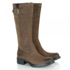 Timberland Brown Charles Street Tall Women's Flat Knee Boot......want it!!!