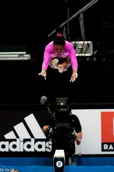 Simone Biles can definitely fly.... who was that who said humans are incapable of unassisted flight?