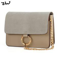 932408297633 Ziwi марка лоскутная сеть сумки замша и искусственная кожа Высокое качество  мода женщин сумки ATB223 купить
