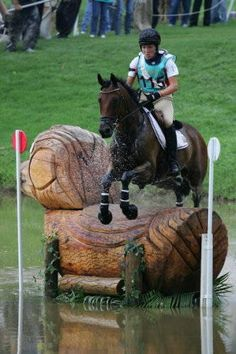 Who doesn't love a creative XC jump?  Until you actually have to gallop down to it, that is....