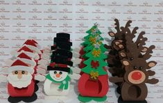 Rena, Christmas Decorations, Holiday Decor, Origami, Calendar, Xmas, Baby, Beautiful, Holiday Crafts
