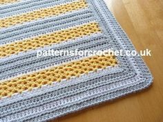 Looking for your next project? You're going to love pfc231-Blanket baby crochet pattern by designer justcrochet.