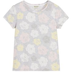 Kenzo Baby Girls Tiger Pattern T-shirt | New Collection
