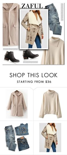 """Its time for work"" by melodibrown ❤ liked on Polyvore featuring maurices, SOREL and zaful"