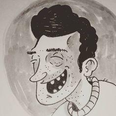 Alpha male. #ink #illustration #illustradraw #instadrawing #instadraw #illustrator #drawing #sketch #sketchbook #moleskine #comics #copicmultiliner #pentelpocketbrush #pentelbrush #penbrush #copicmarkers #copic #cartoon #illustrationdaily #myartwork #drawbyme