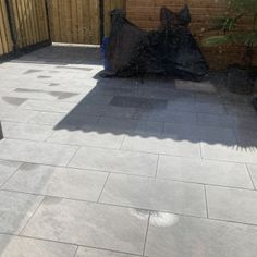Keramische Tuintegel Assisi Grey (81x40x2) - SlimBestraten.nl Tile Floor, Sidewalk, Flooring, Side Walkway, Tile Flooring, Walkway, Wood Flooring, Walkways, Floor