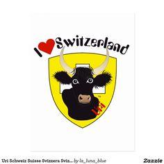 Uri Schweiz Suisse Svizzera Svizra Postkarte